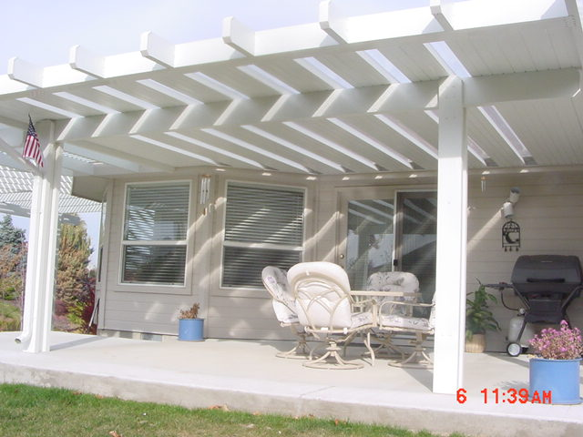 Solid Lattice Patio Covers