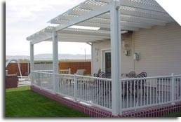 Open Lattice Patio Covers by Patio Covers Unlimited, Inc.